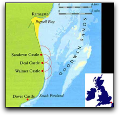 Trips to the Goodwin Sands